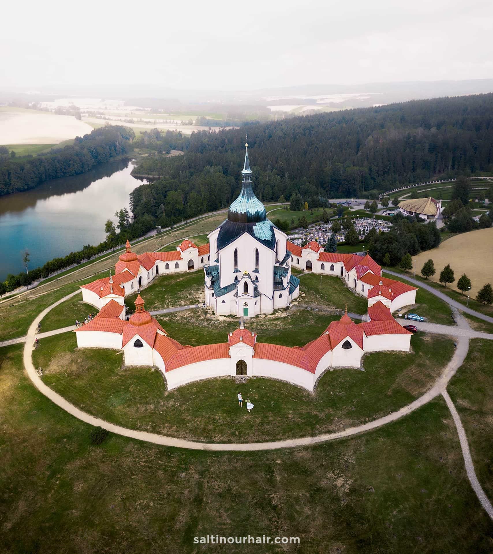 czech republic Pilgrimage Church St John Nepomuk