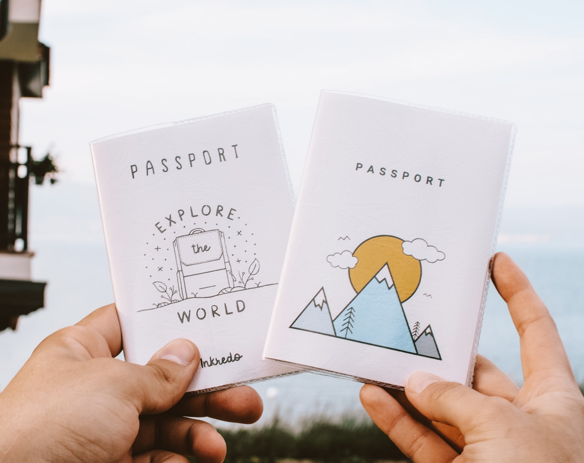 Best Gifts Traveler passport cover