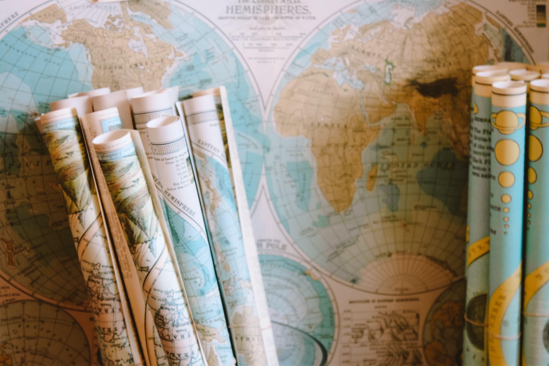Best Gifts Traveler map