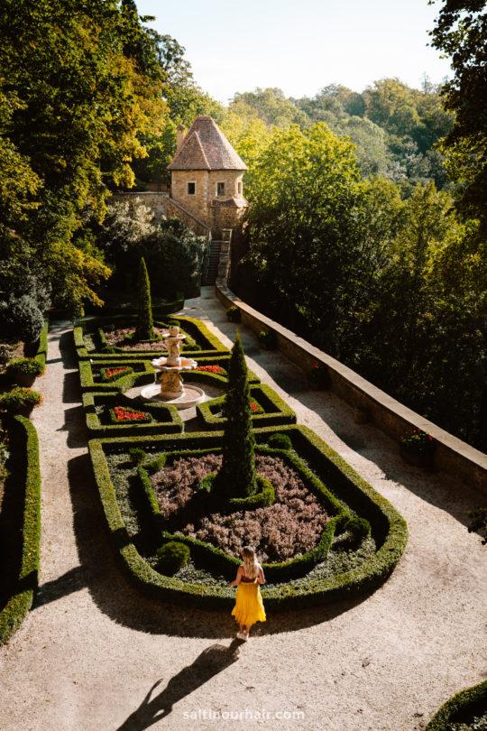 Ksiaz Castle Poland garden