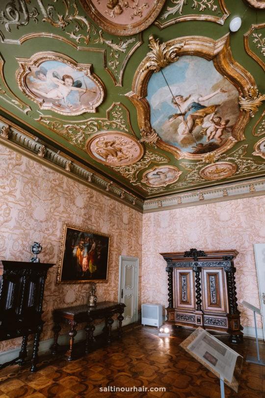 Ksiaz Castle inside