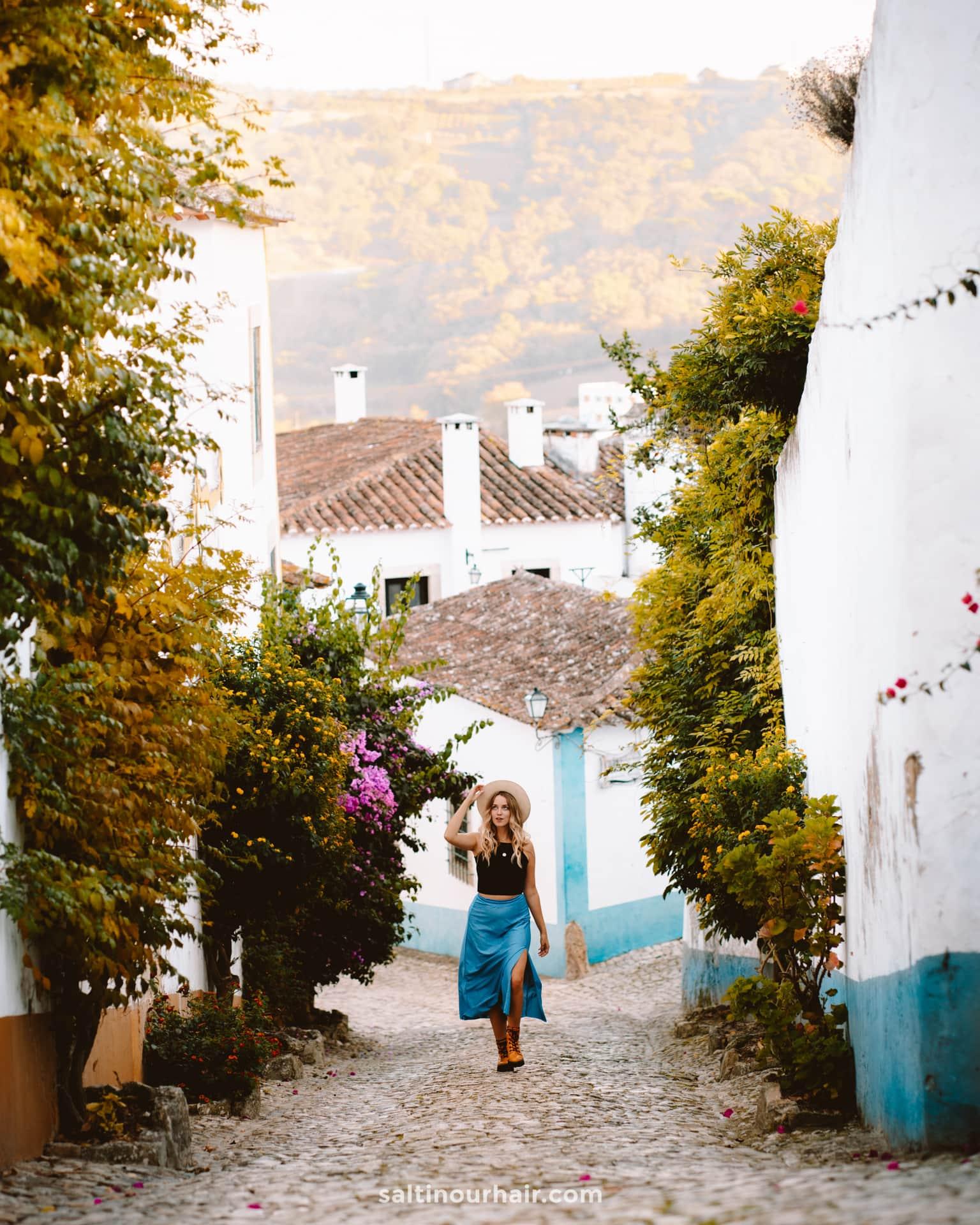 obidos portugal prachtige stad