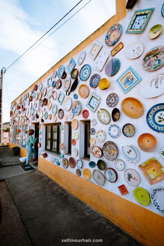 ceramic shop algarve portugal