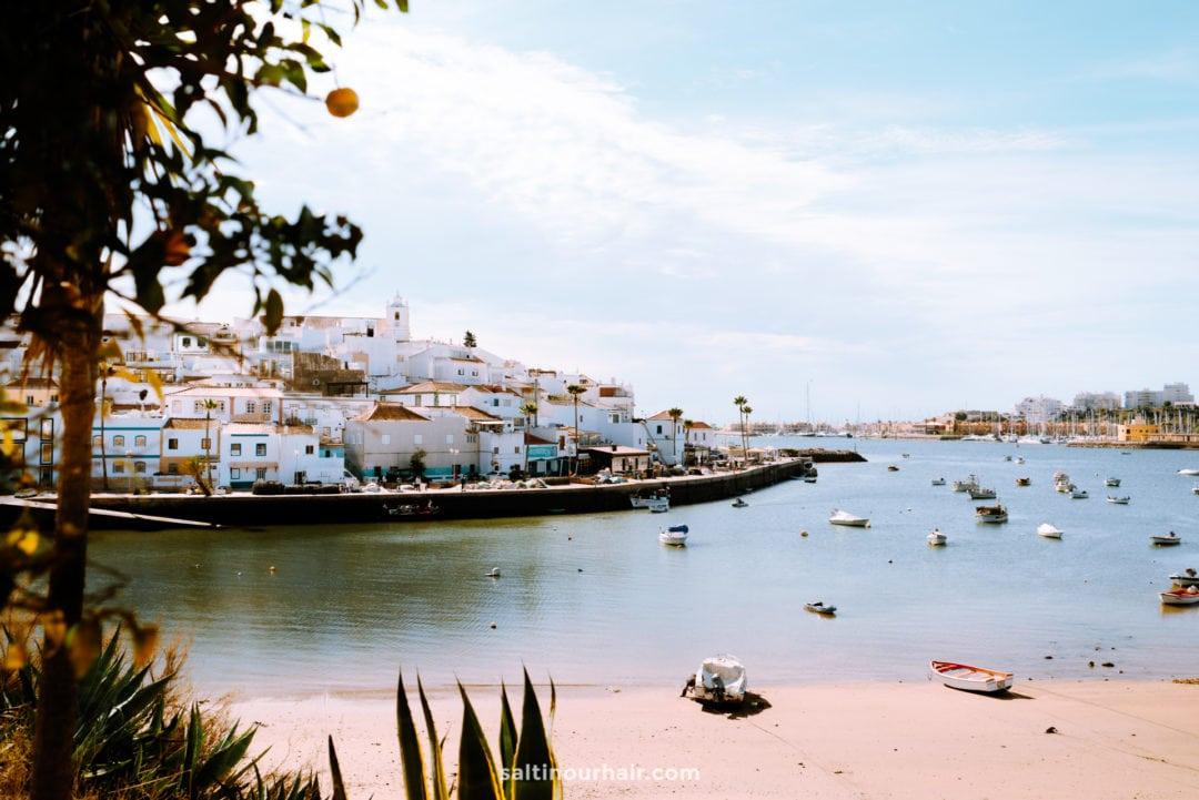 algarve portugal Ferragudo fishing village