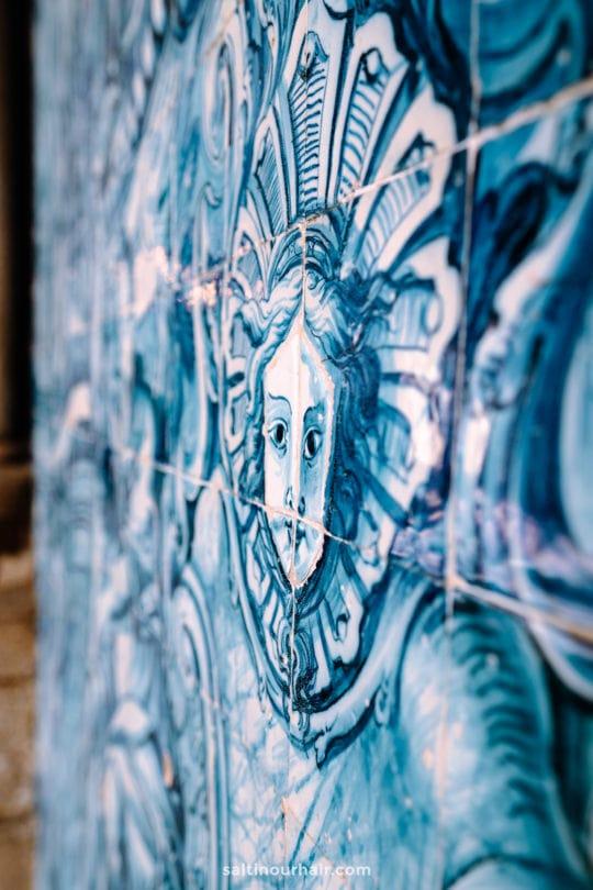 Porto blue tiling