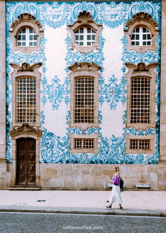 porto portugal stedentrip Igreja do Carmo kerk