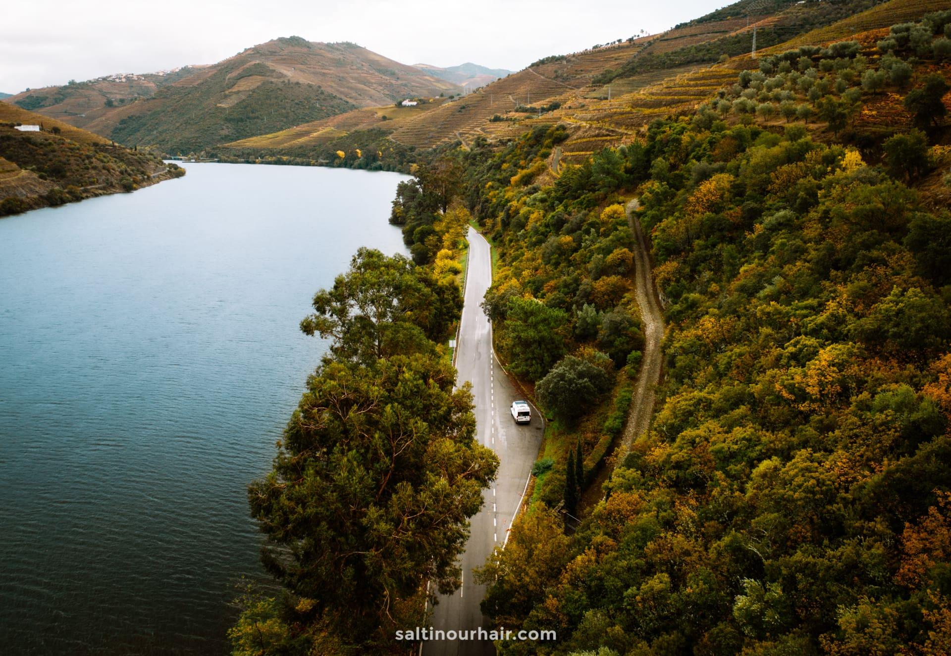 douro valley portugal scenic roads