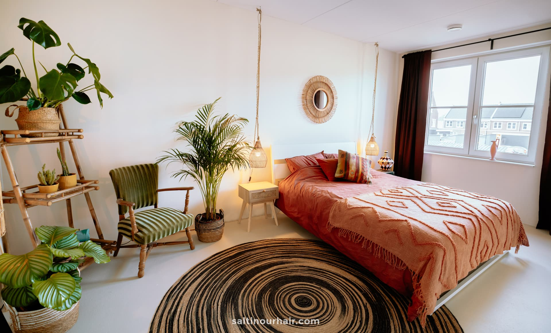 travel home decor boho bedroom