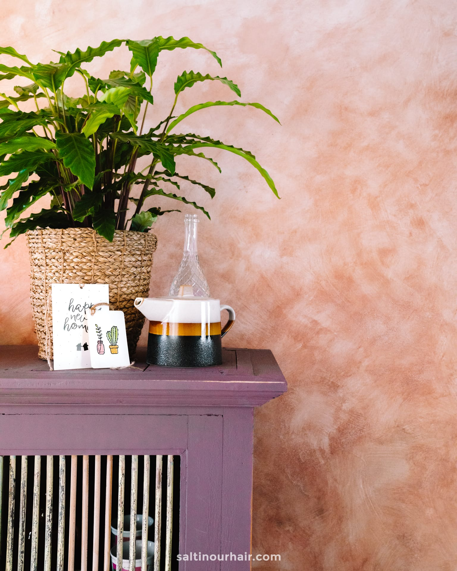 travel home moroccan color wash textured wall