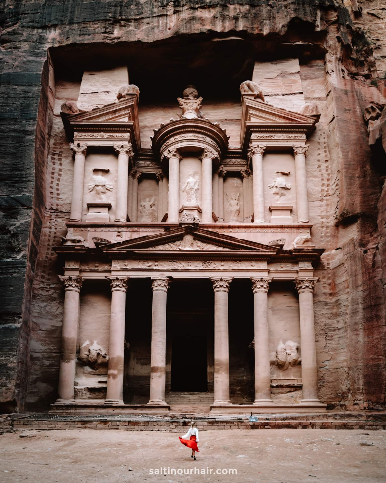 treasury petra jordan best to visit