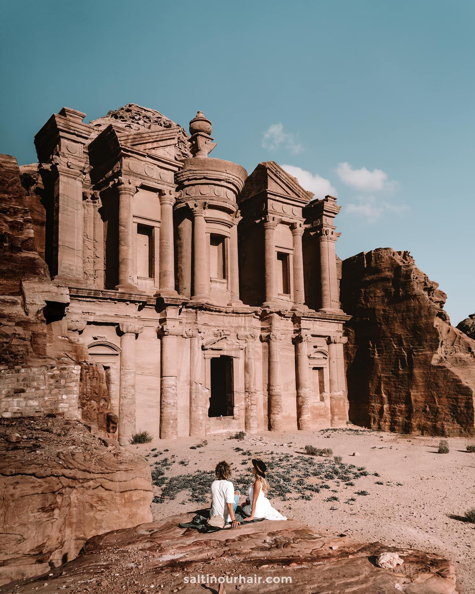 Monastery petra jordan