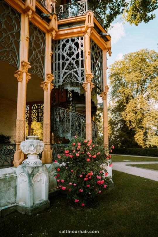 garden Hluboka Castle Czech Republic