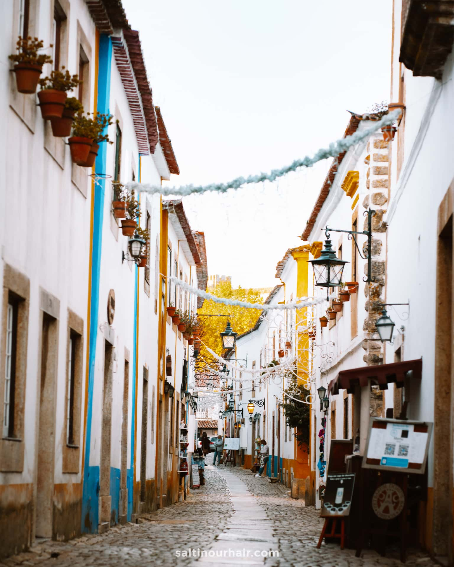 Obidos stad