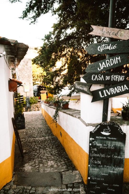 Beste Cafés Restaurants Obidos Portugal