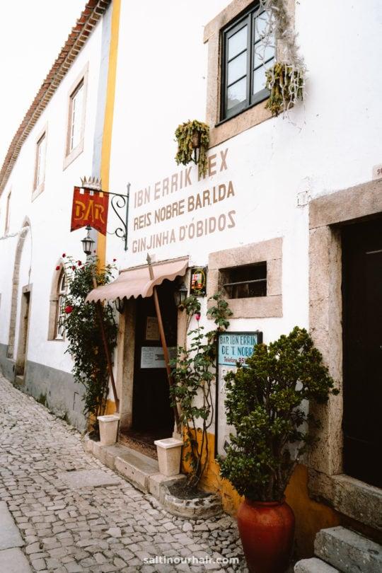 winkelen obidos portugal
