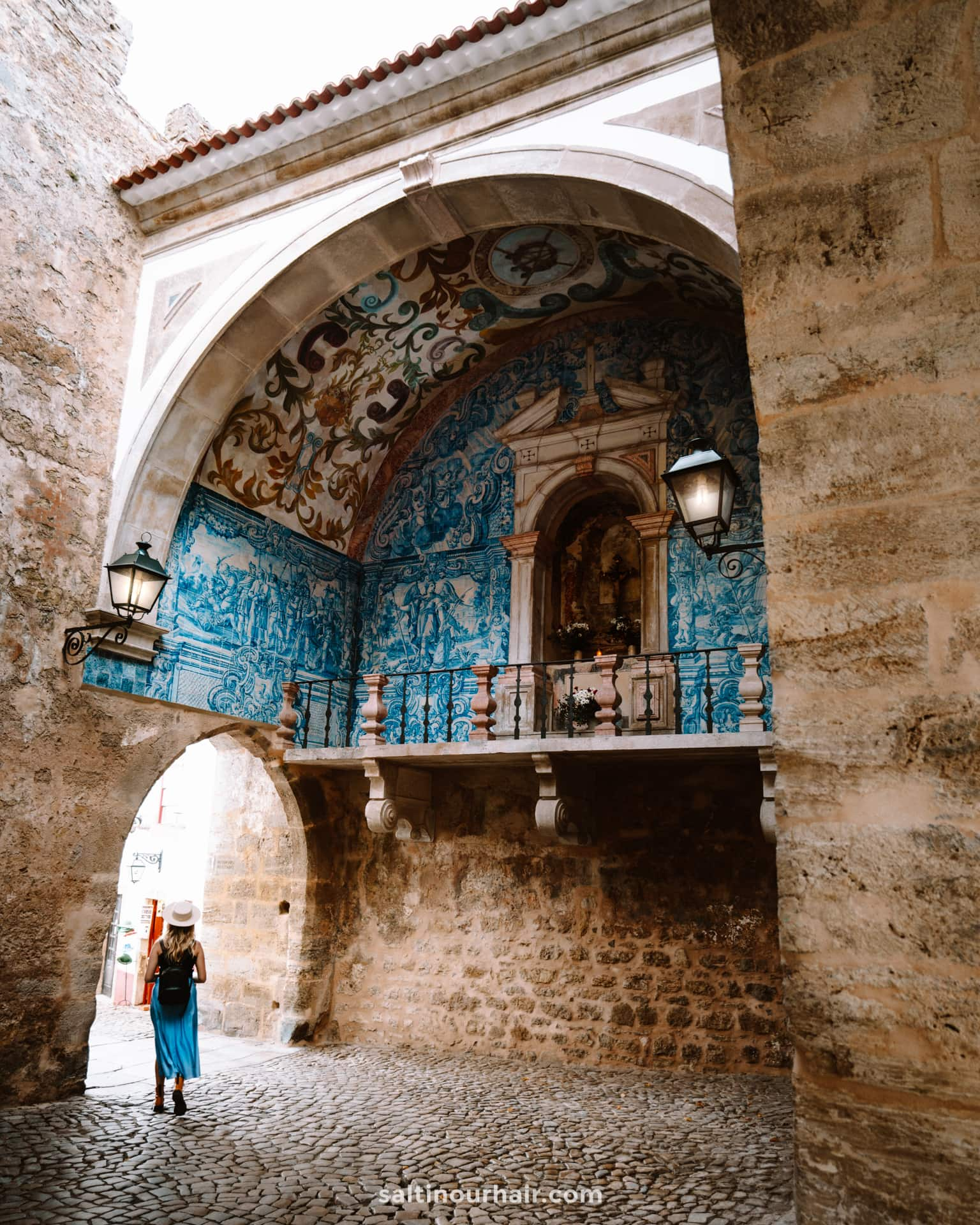 kerk obidos portugal