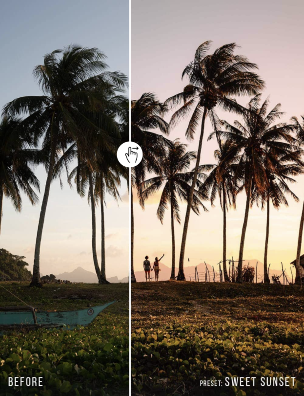 photography tips editing sunset