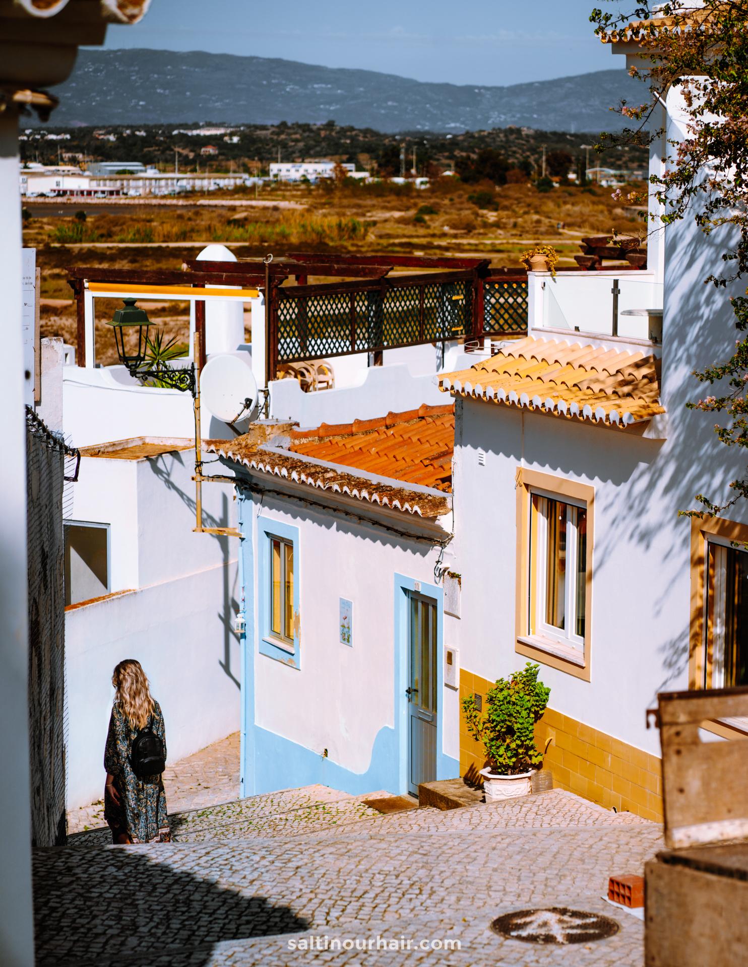 ferragudo portugal cute streets