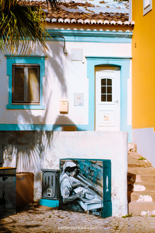 algarve colorful streets
