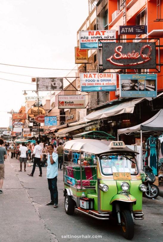 streets thailand
