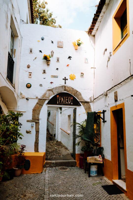 evora portugal beste café