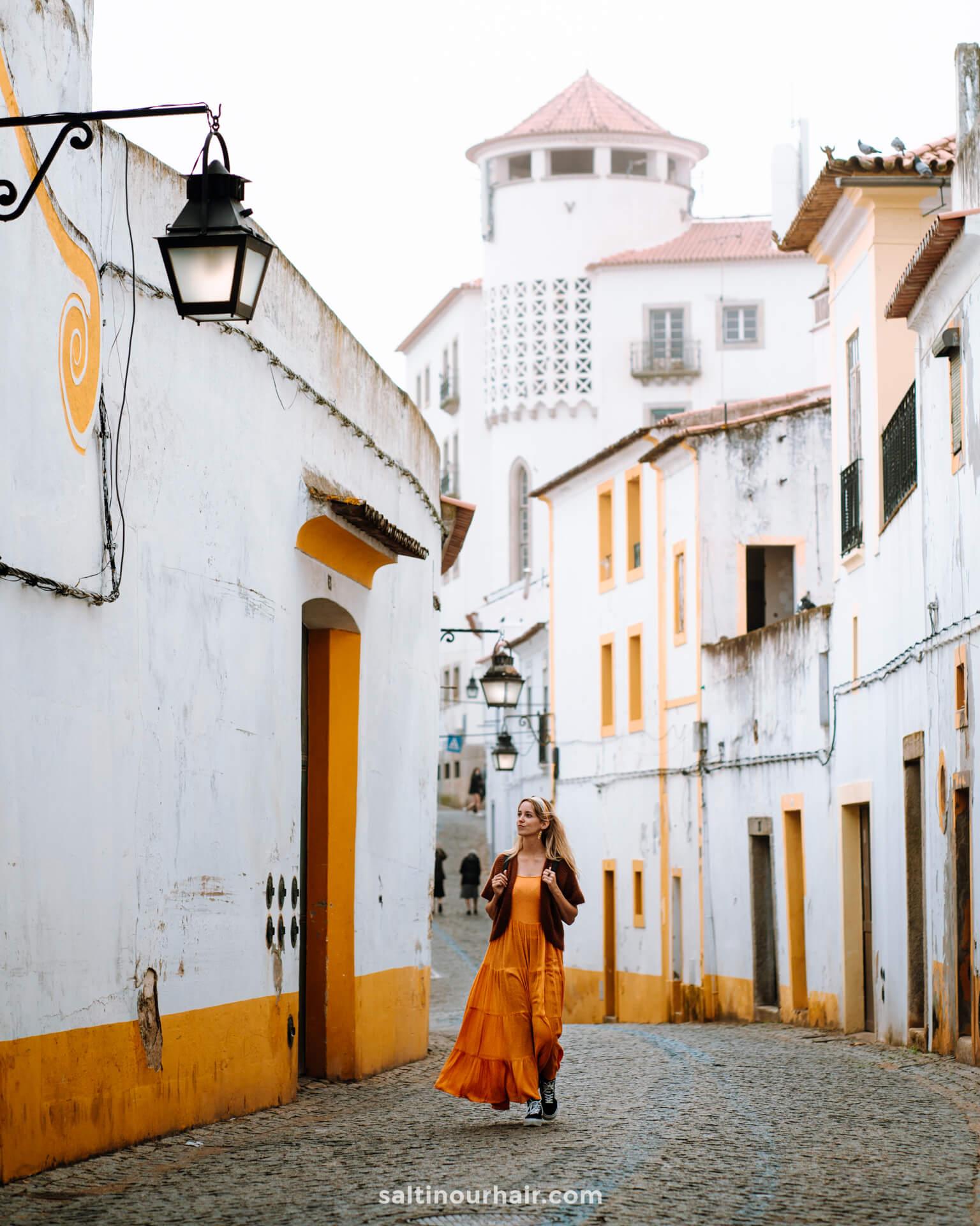 evora portugal straten europa