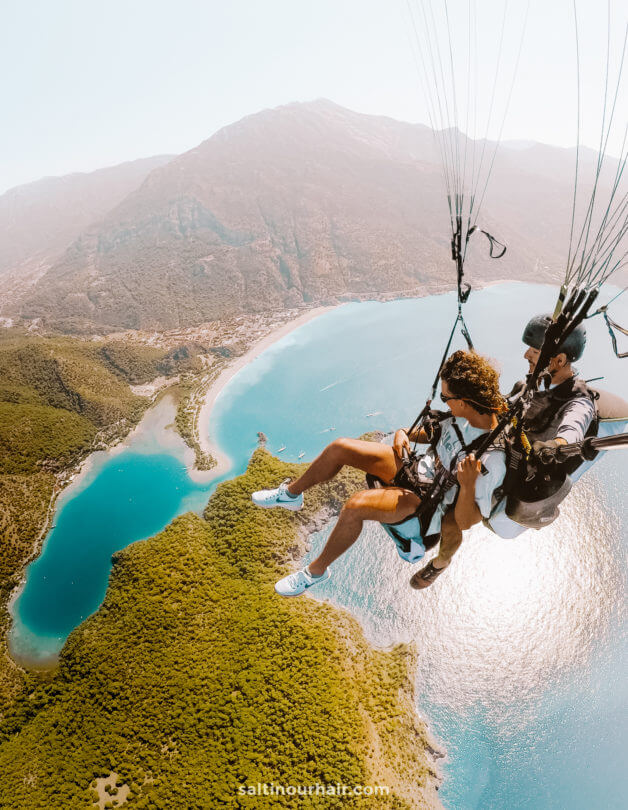 backpacker travel insurance Paragliding