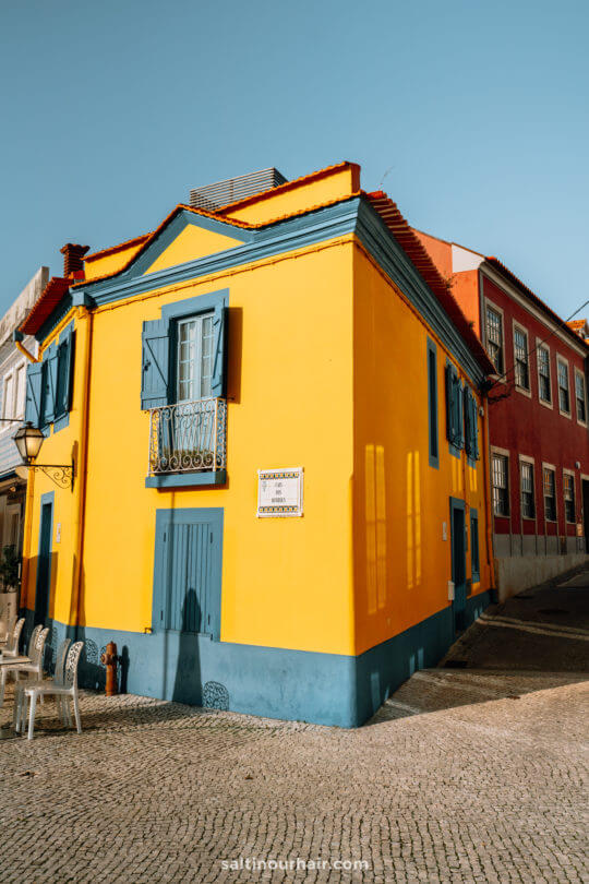 portugal colorful houses