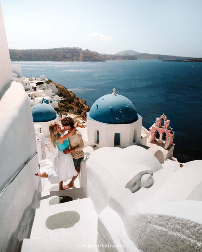 honeymoon santorini greece