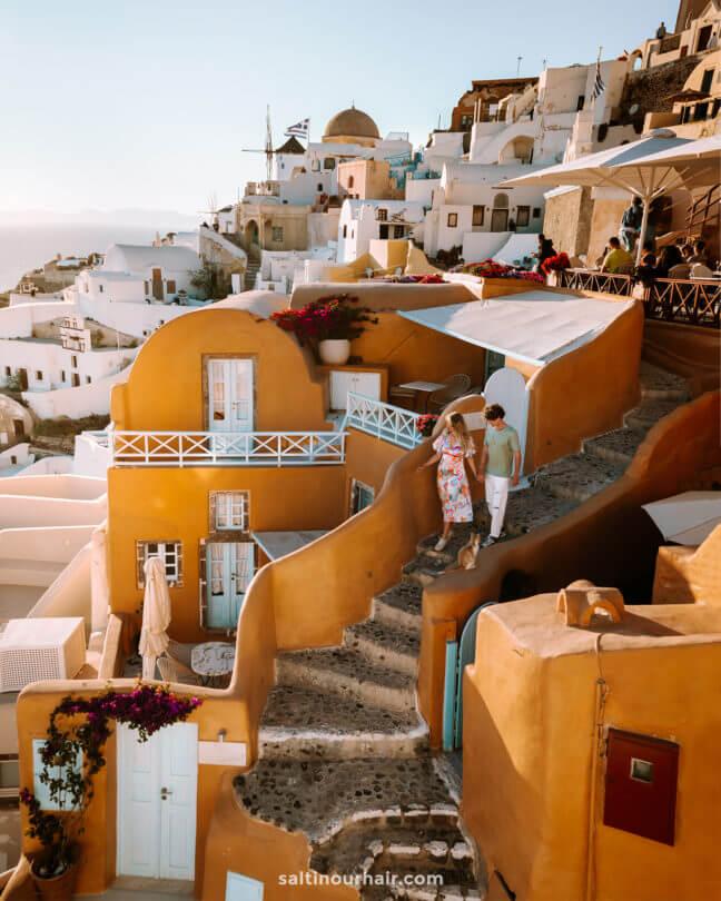 best honeymoon destination santorini