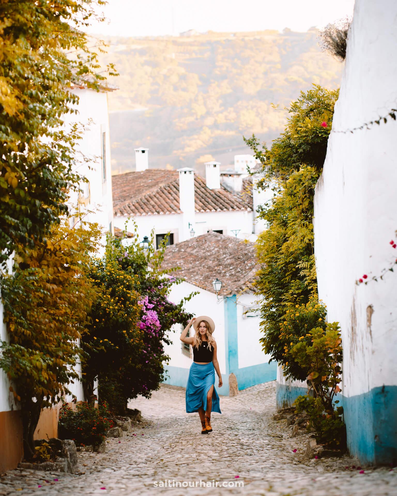 obidos mooiste plekken in Portugal