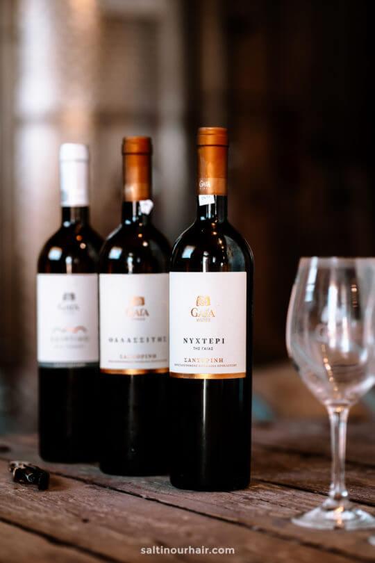 santorini greece wine tour