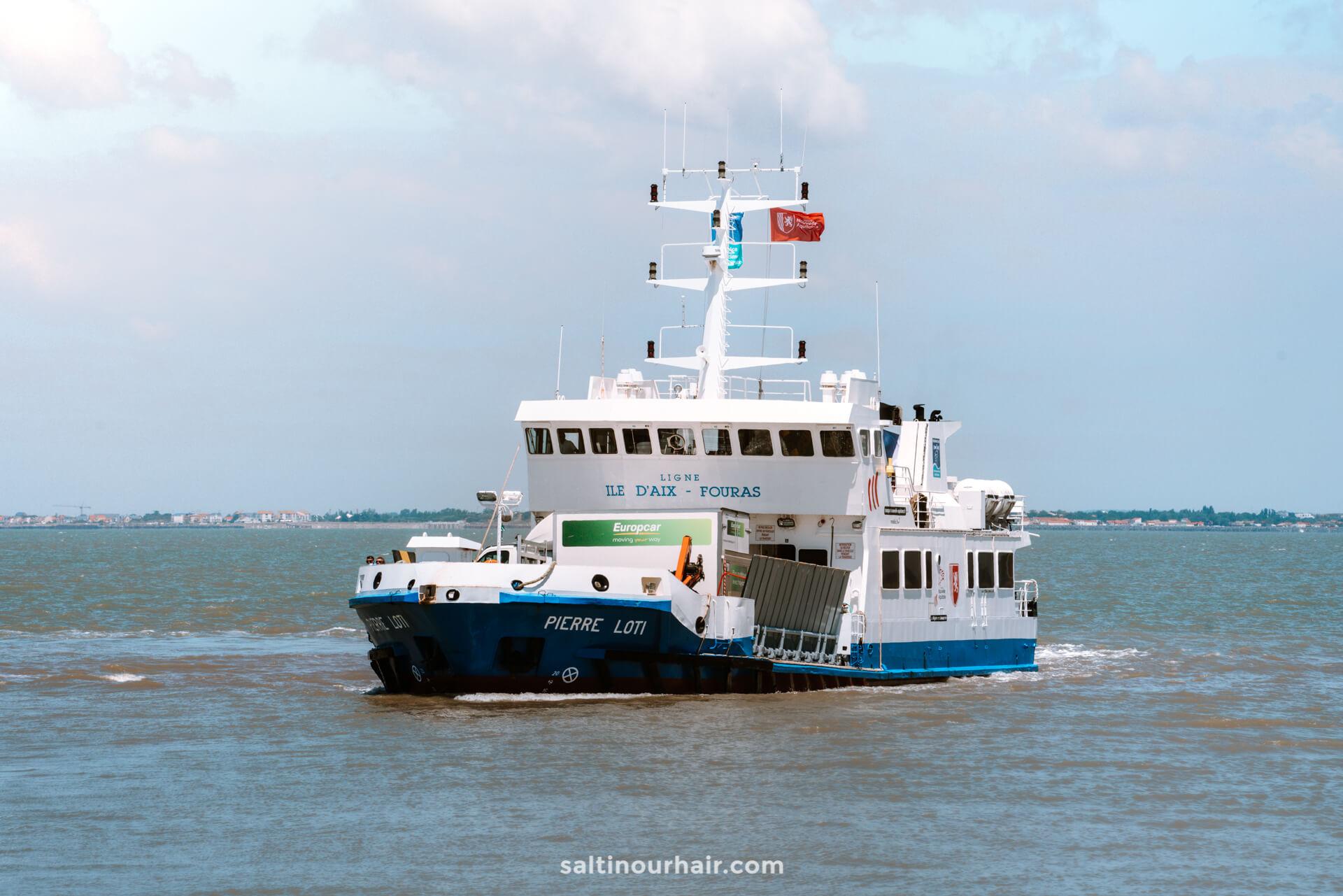 aix eiland frankrijk dingen om te doen veerboot