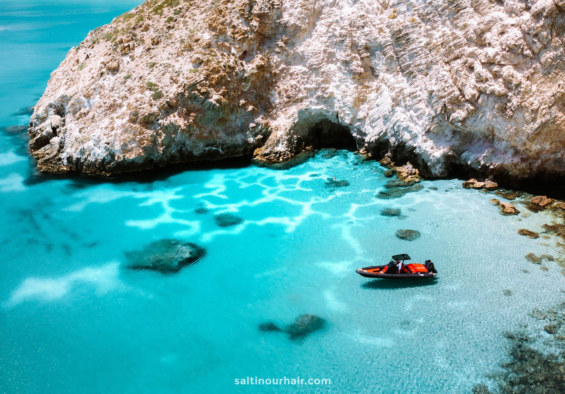Greek island hopping milos