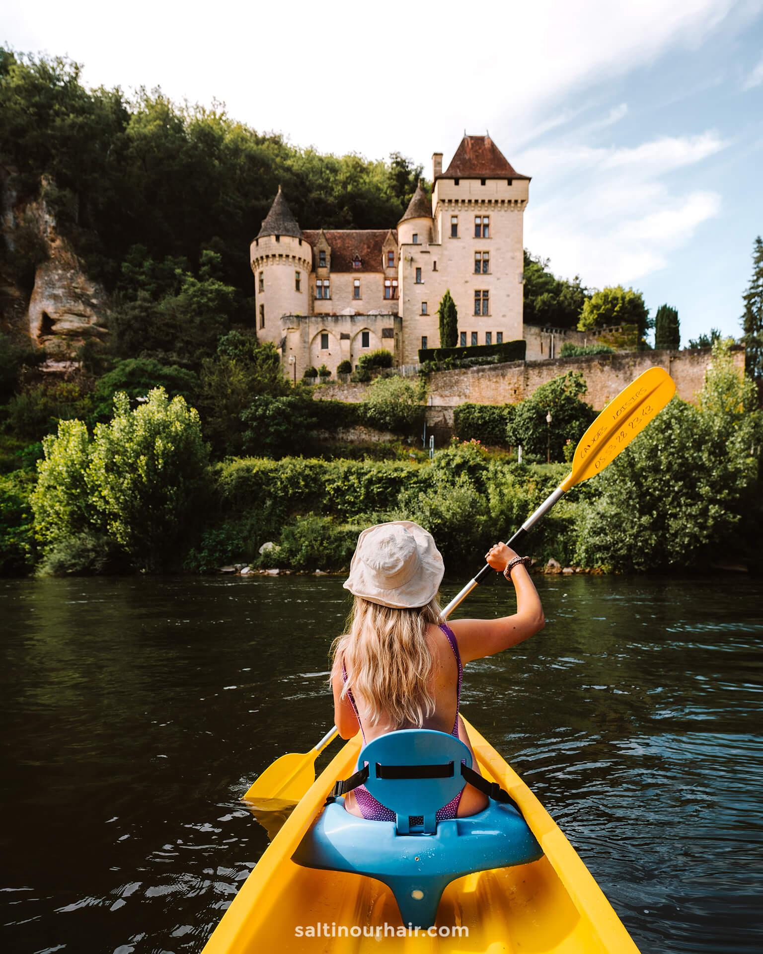 sarlat france kayaking dordogne valley