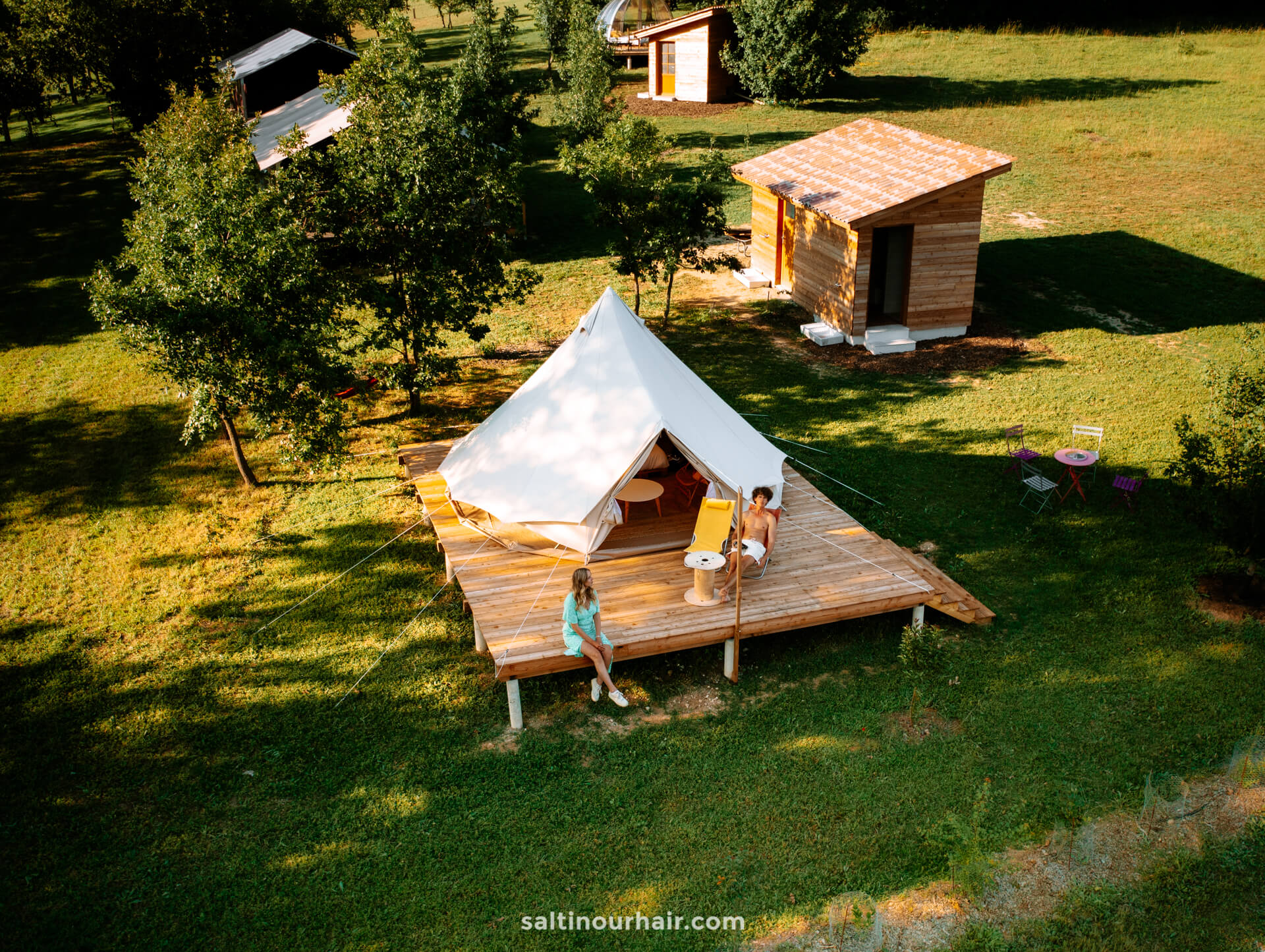 Aubeterre france campsite