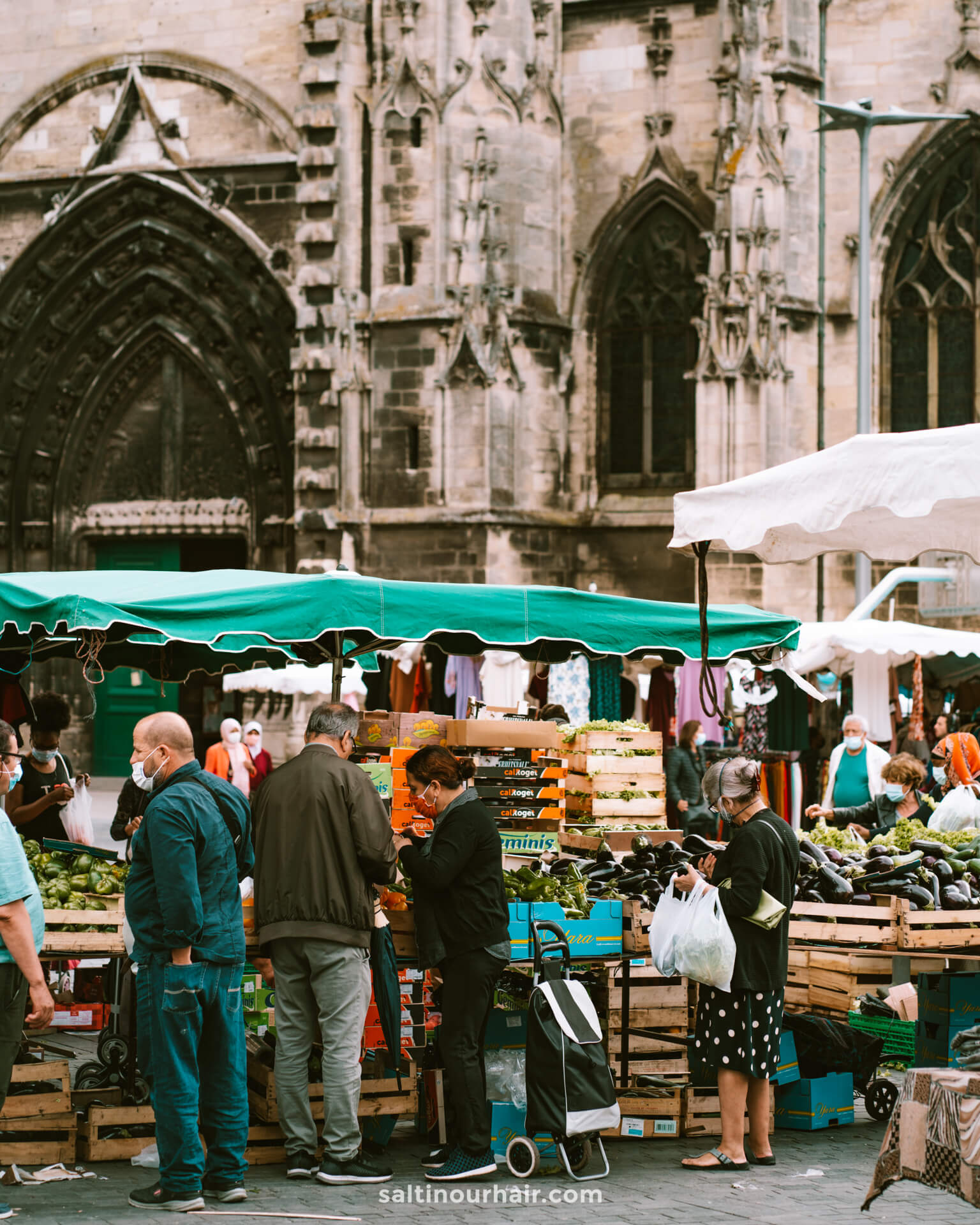 Saturday Market at St. Michael bordeaux things to do